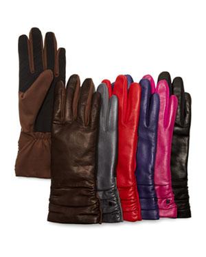 UR Michelle Ruched Cuff Tech Gloves