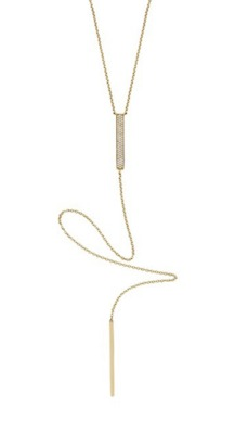 ef collection diamond lariat necklace
