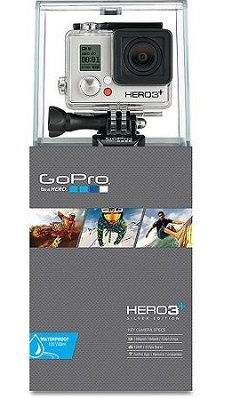 GoPro HERO3+ Silver Edition Action Camcorder