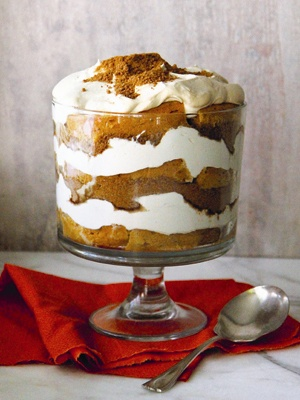 Pumpkin Gingersnap Trifle