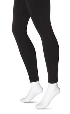 ff66a3eebf13c7 Xhilaration® Women's Footless Fleece Lined Leggings ($12)
