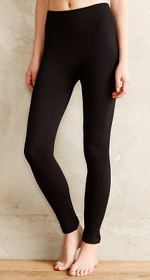 b1841a7d81bc3 Hansel from Basel Fleece-Lined Cable Leggings ($19.50)