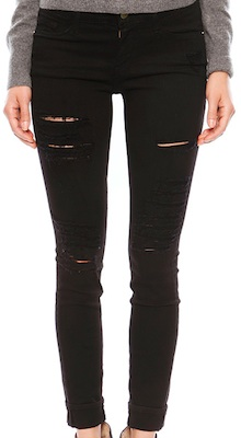 Frame Denim Le Color Ripped Jean