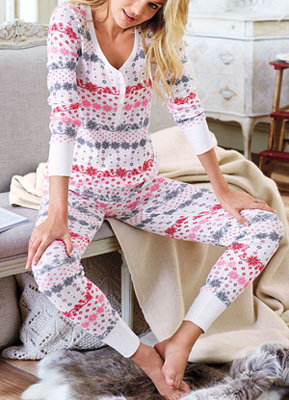 253939f6e0 Victoria s Secret The Fireside Long Jane Pajama ( 39.50 Was  52)