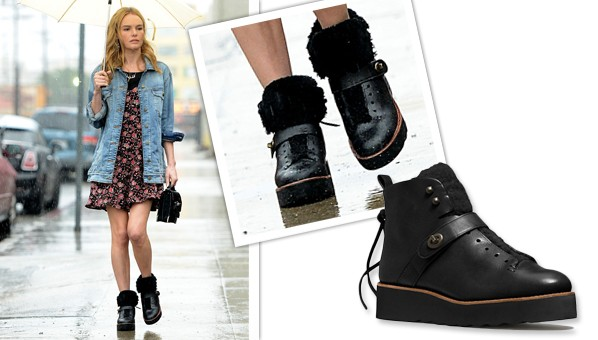 Kate Bosworth Black Boots Coach Urban Hiker Boots 171 Shefinds