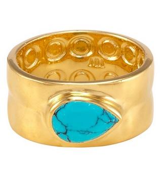 melinda marie ryan hammered ring