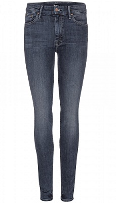mother high waist the looker jeans