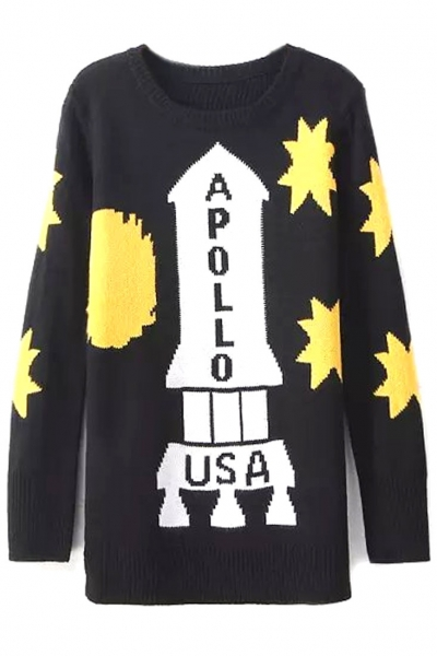 apollo-print-long-sweater