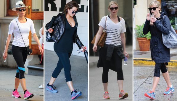 be5ba8e63d36 Celebrity Workout Sneakers