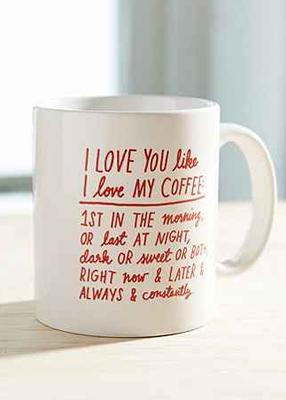 I Love You Like A Fat Kid Loves Cake Ceramic Coffee Mug