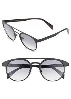 b95dfc649ee0 Italia Independent 55mm Round Sunglasses ( 215)