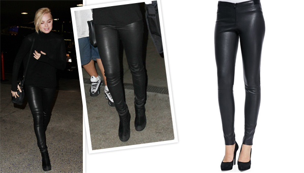 77b7b90b3dc721 Margot Robbie And Her Leather Leggings Are The Focus Of This Week's #WCW