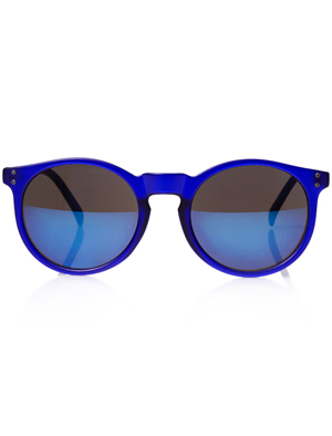 ebfe0ba0f Mirrored Round Sunglasses - SHEfinds