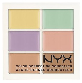nyx cosmetics color correcting concealer 12 - Concealer Color Guide