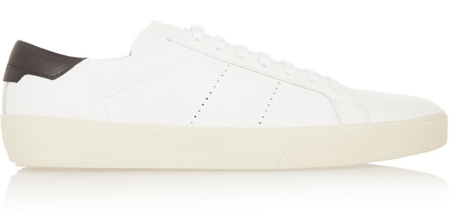 Saint Laurent Court Classic Leather Sneakers 1