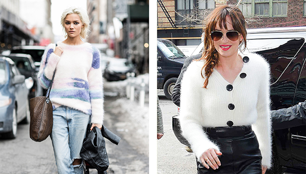 Fuzzy Sweater Trend | Shop Fuzzy Sweaters