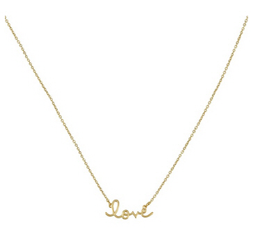 syndey evan love necklace
