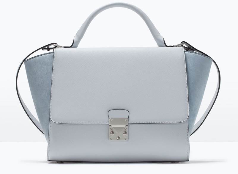 Zara Combined City Bag With Buckle