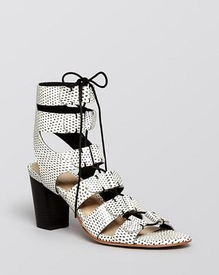 02632f6b3a4f Loeffler Randall Lace Up Sandals - Thea High Heel ( 375)