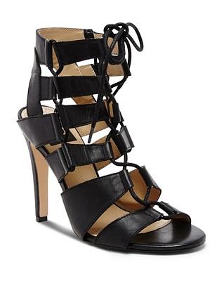faedf413789e DV Dolce Vita Open Toe Ghillie Lace Up Sandals - Tyler High Heel ( 100)