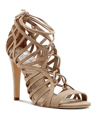 b44492272e8d DV Dolce Vita Open Toe Caged Ghillie Lace Up Sandals - Tessah High Heel  ( 100)