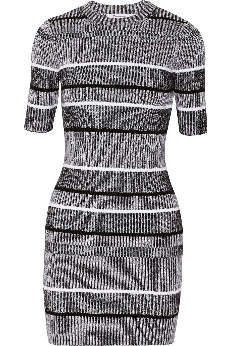 T By Alexander Wang Ribbed Dress