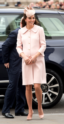 kate middleton pink new
