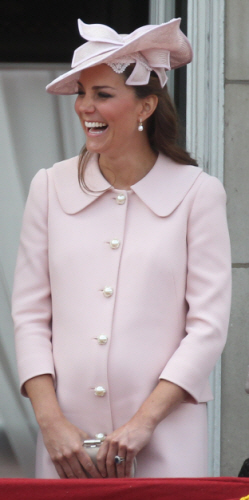 kate middleton pink old