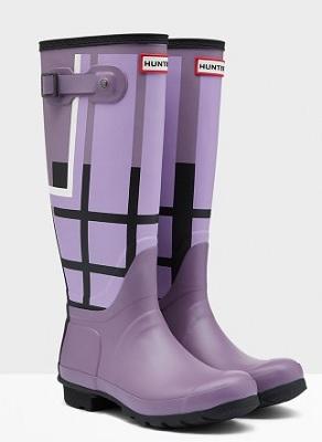 Printed Hunter Rain Boots | Patterned Hunter Rain Boots