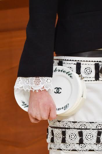 Chanel Brasserie Plates Clutch