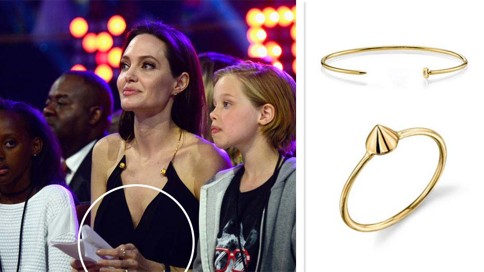 Get Angelina Jolie S Sydney Evan Jewelry From The Kid Choice Awards