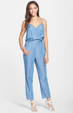 CeCe by Cynthia Steffe  Felicity  Chambray Jumpsuit 075c685d8