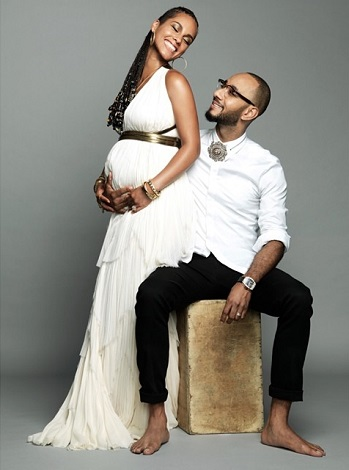 Alicia Keys announced her second pregnancy