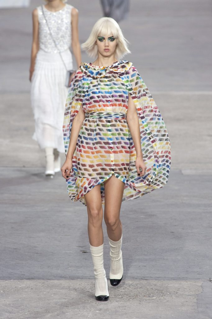 Chanel Rainbow Dress