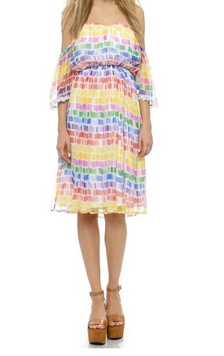 Line & Dot Fantasy Flutter Dress