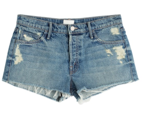 MOTHER Jean Shorts