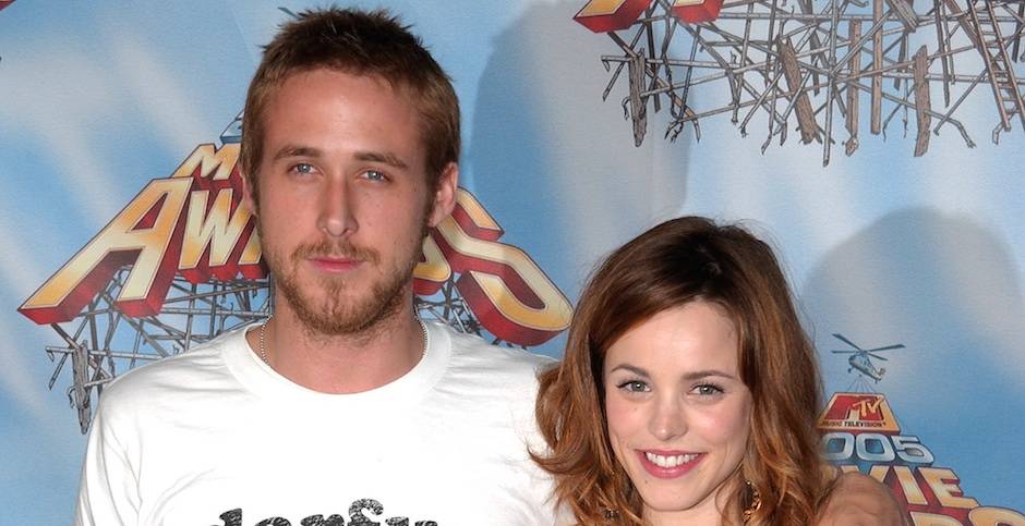 Ryan Gosling and Rachel McAdams have broken up