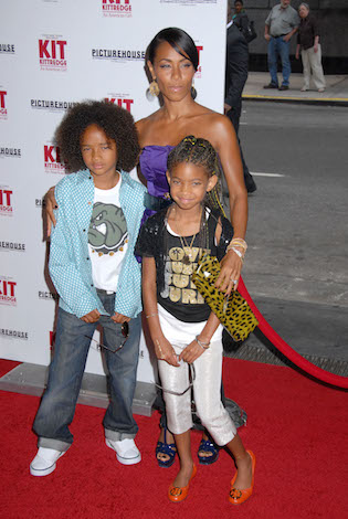Will and Jada Pinket Smith's kids, Jaden and Willow