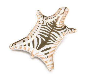 zebra dish