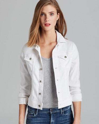 White Denim Jacket | White Denim Skirt
