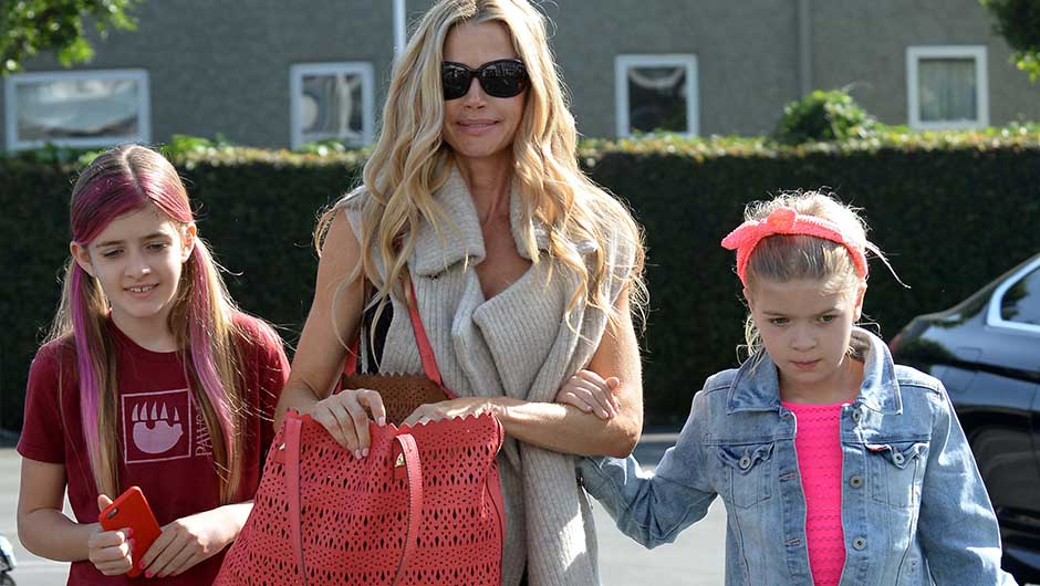 Charlie Sheen and Denise Richards' daughters, Sam and Lola