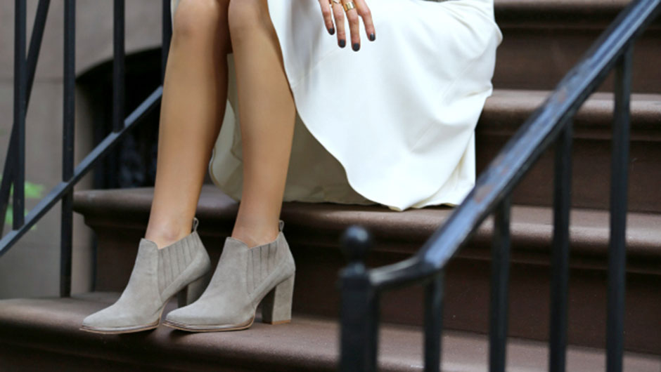 best booties with dresses