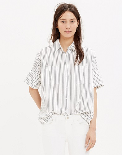 madewell courier shirt