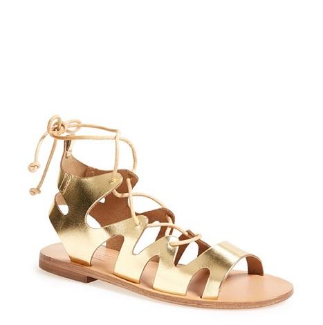 Ankle Wrap Sandals Ankle Tie Sandals