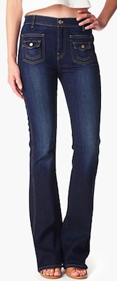 Jessica Alba Trouser Jeans | 7 for all Mankind Vintage Trouser Denim