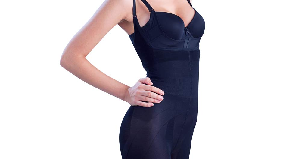 87dab6952dcde Shapewear is a wonderful (and magical!) thing. It holds you in all the  right places and hides your imperfections. It s basically the closest a  woman can get ...