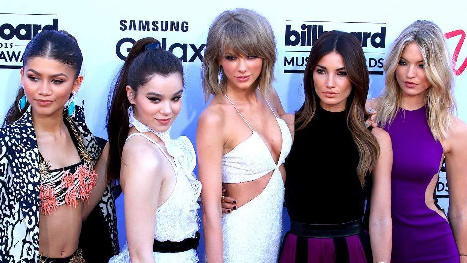Taylor Swift Bad Blood Friends Taylor Swifts Friends Who Are Taylor Swifts Friends Shefinds