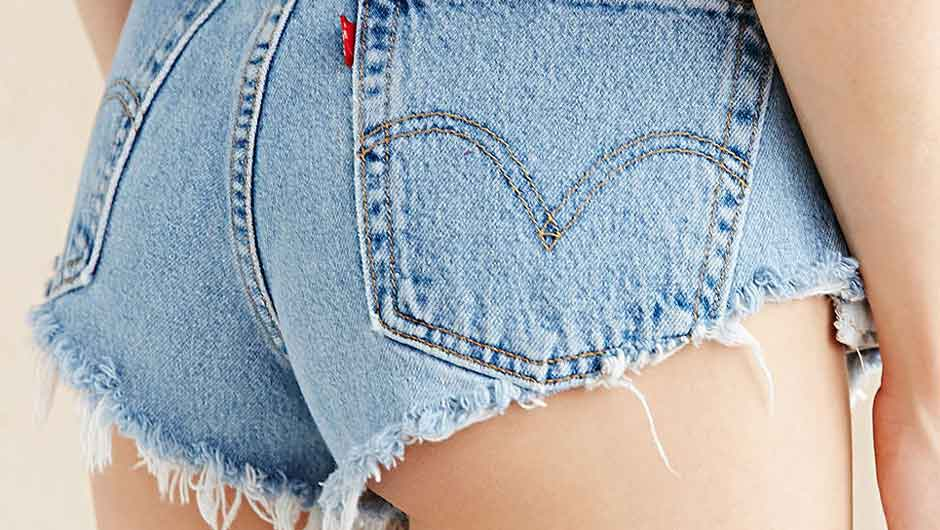 Shortest Denim Shorts