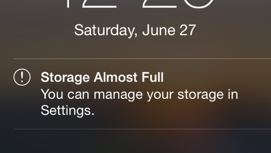 storage almost full on iphone apps to help you save storage apps to give you more room 18037