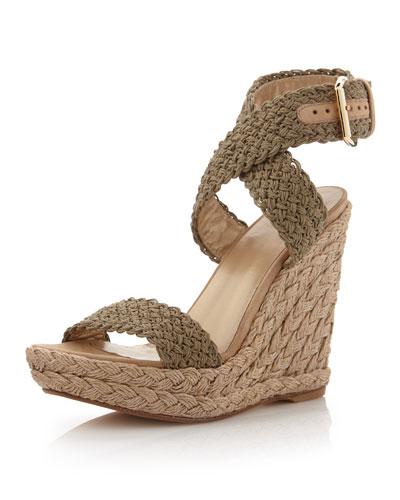 1fb117e8e34 Stuart Weitzman Alex Crochet Wedge Sandal